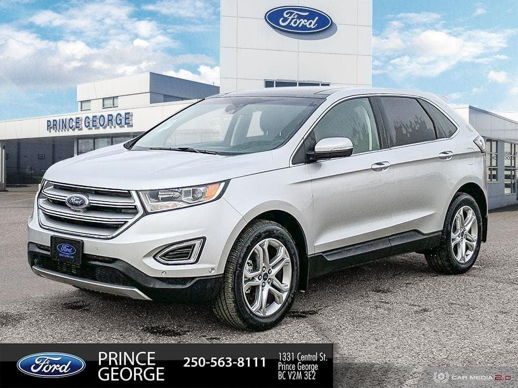 2018 Ford Edge Titanium AWD | $10,599 in Savings | Best Ford Deal Sport Utility