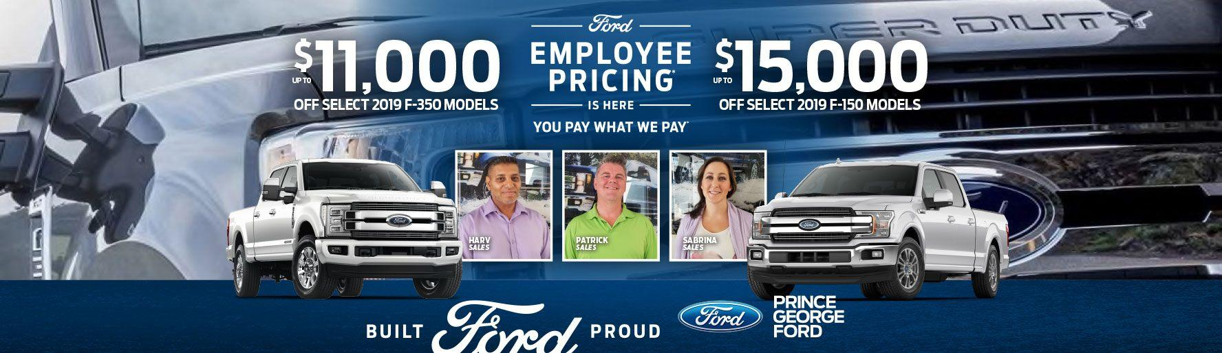 Prince George Ford Your New & Used Ford Dealership | Prince